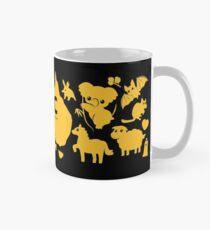 ARC Animals across Australia - in yellow Classic Mug