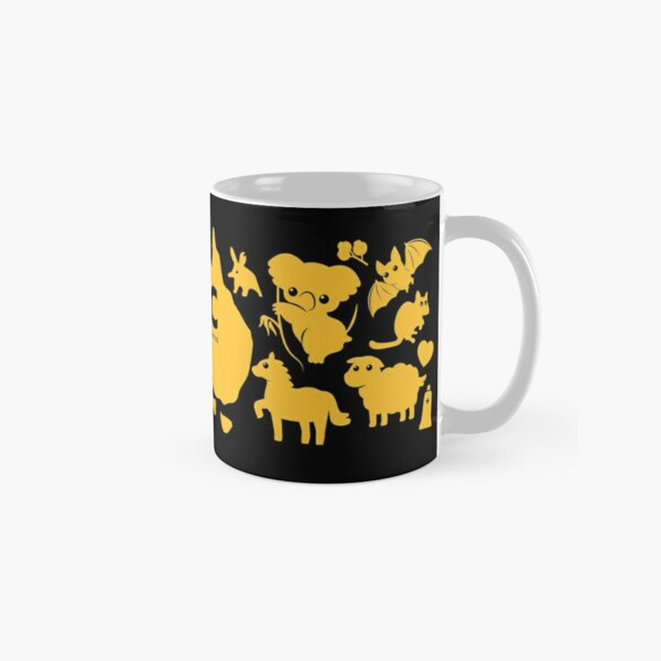ARC Animals across Australia - in yellow Classic Mug