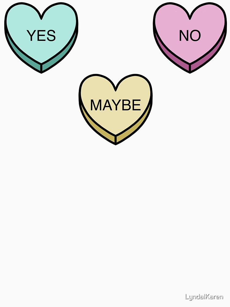 Indecisive Candy Hearts by LyndalKaren