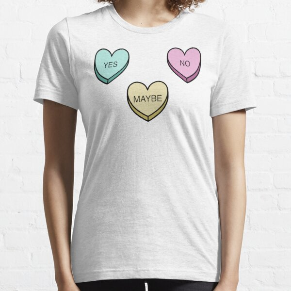 Indecisive Candy Hearts Essential T-Shirt