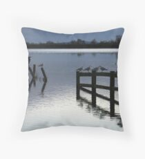 Evening roost Throw Pillow