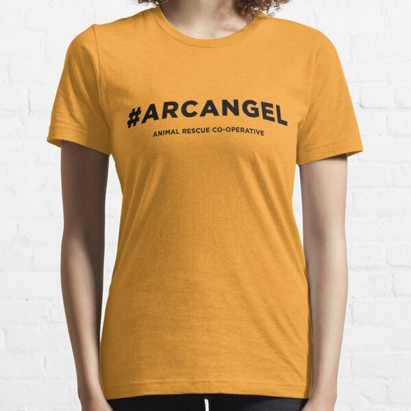 ARC #ARCANGEL - black type Essential T-Shirt