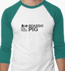 Hipster - Rough Stripe Men's Baseball ¾ T-Shirt