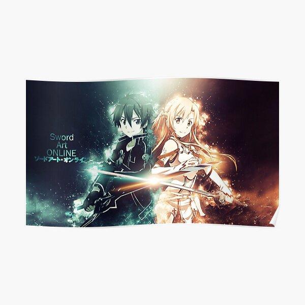 Sword Art Online - Kirito / Asuna Poster