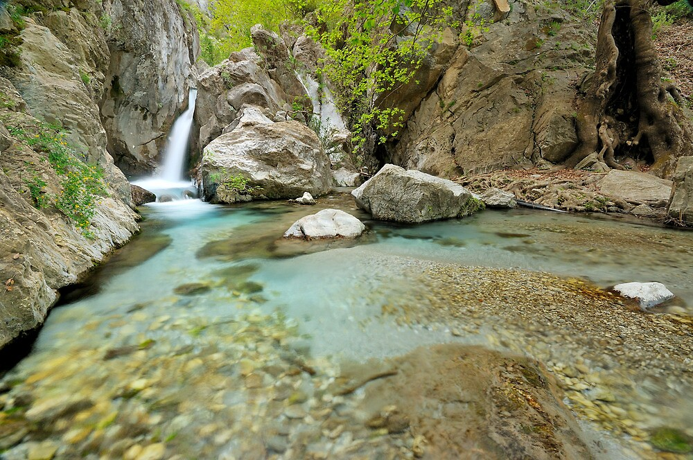 Quot Waterfall In Greece Taygetos Mountain Quot By
