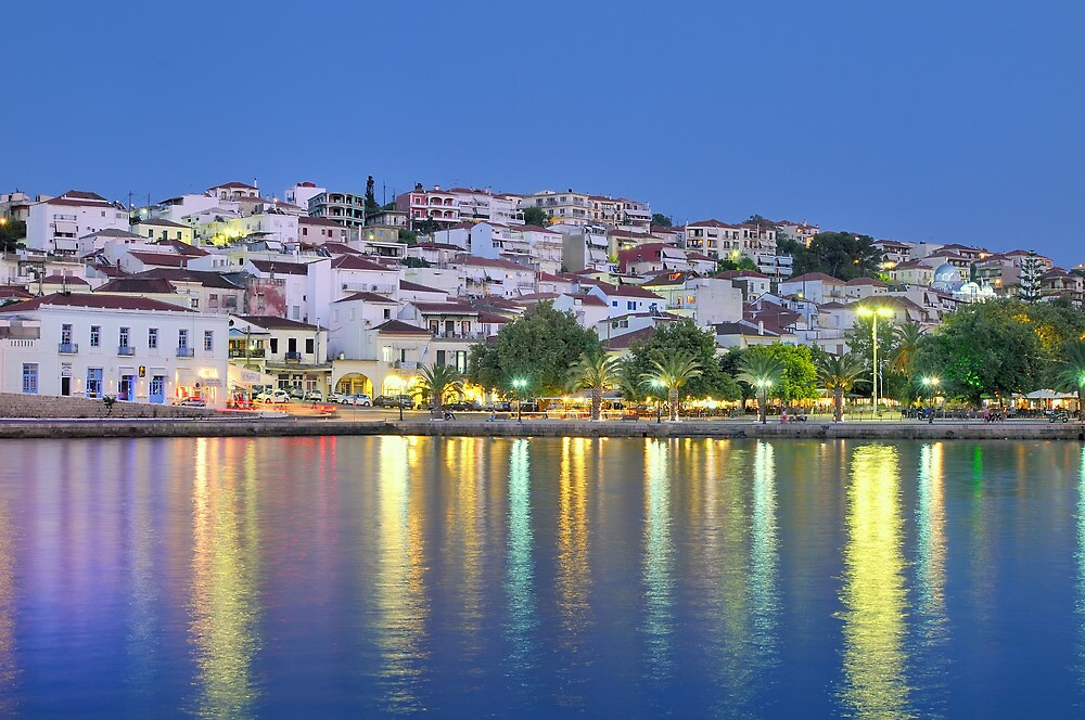 The town of Pylos, southern Greece by nickthegreek82