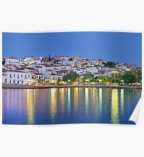 The town of Pylos, southern Greece Poster