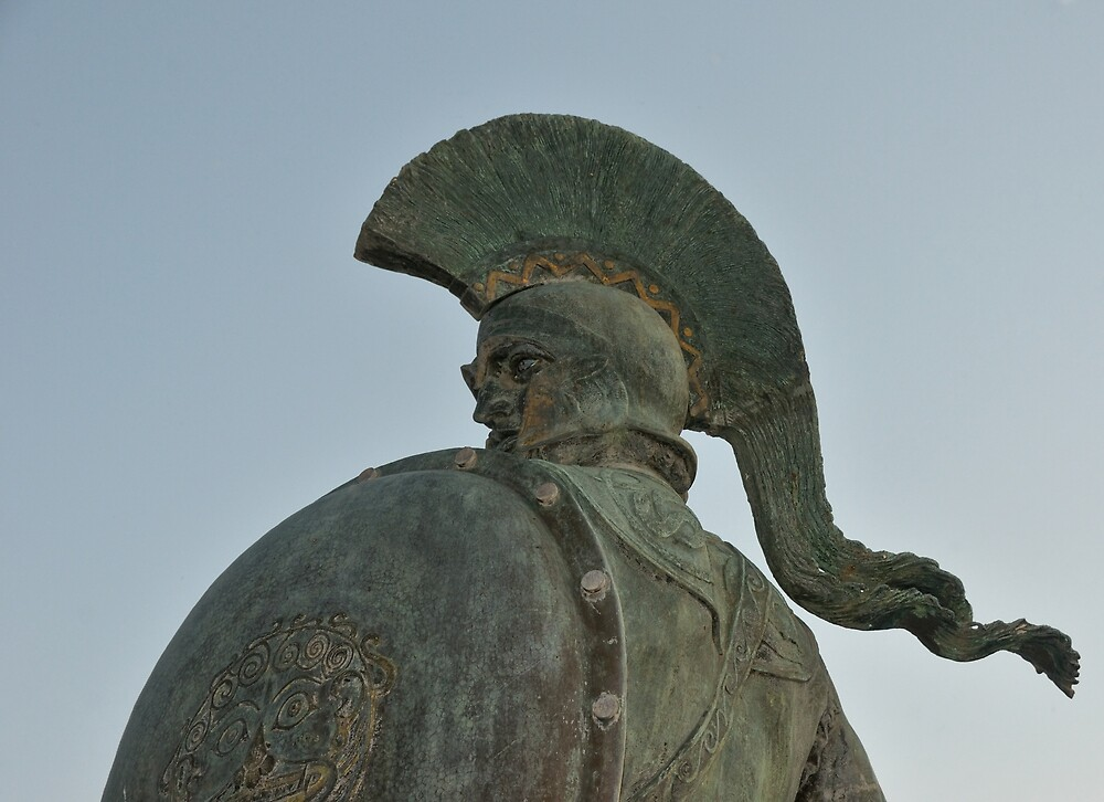 Quot Statue Of King Leonidas In Sparta Greece Quot By