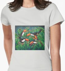 """""""Toucan Tea"""" Womens Fitted T-Shirt"""