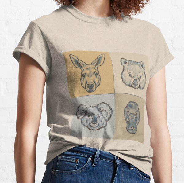 Australian Animals Classic T-Shirt