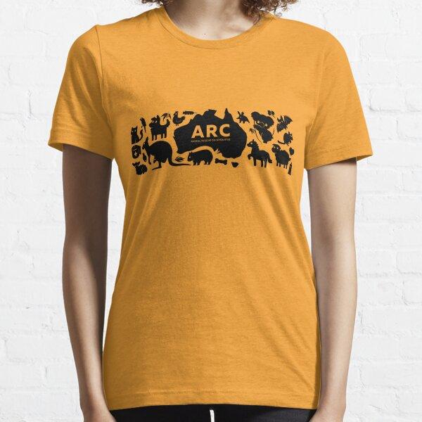 ARC Animals en Australia - tipo negro Camiseta esencial