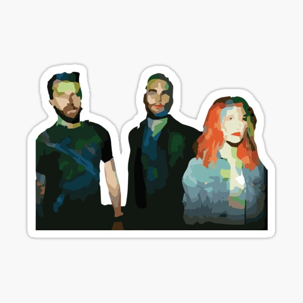 Paramore Self-titled Sticker