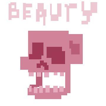 Beauty skull by rattlemybones