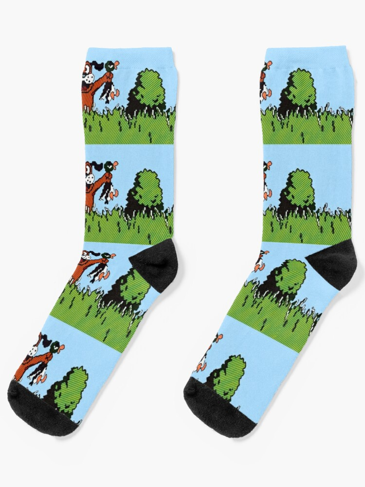 Duck Hunt Socks