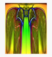 The Wasp Kings Neon Robe Photographic Print