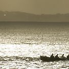 Midwinter Surfboat Training by Andrew Mather