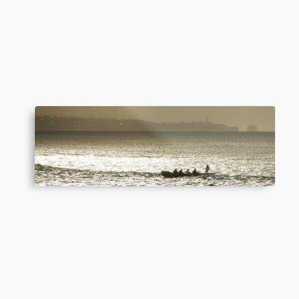 Midwinter Surfboat Training Metal Print