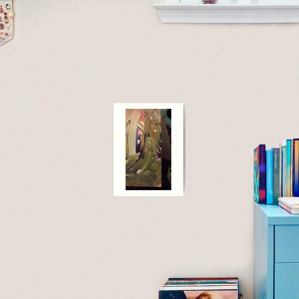 """Elana"":  Wood Sprite from Emerald's Domain Art Print"