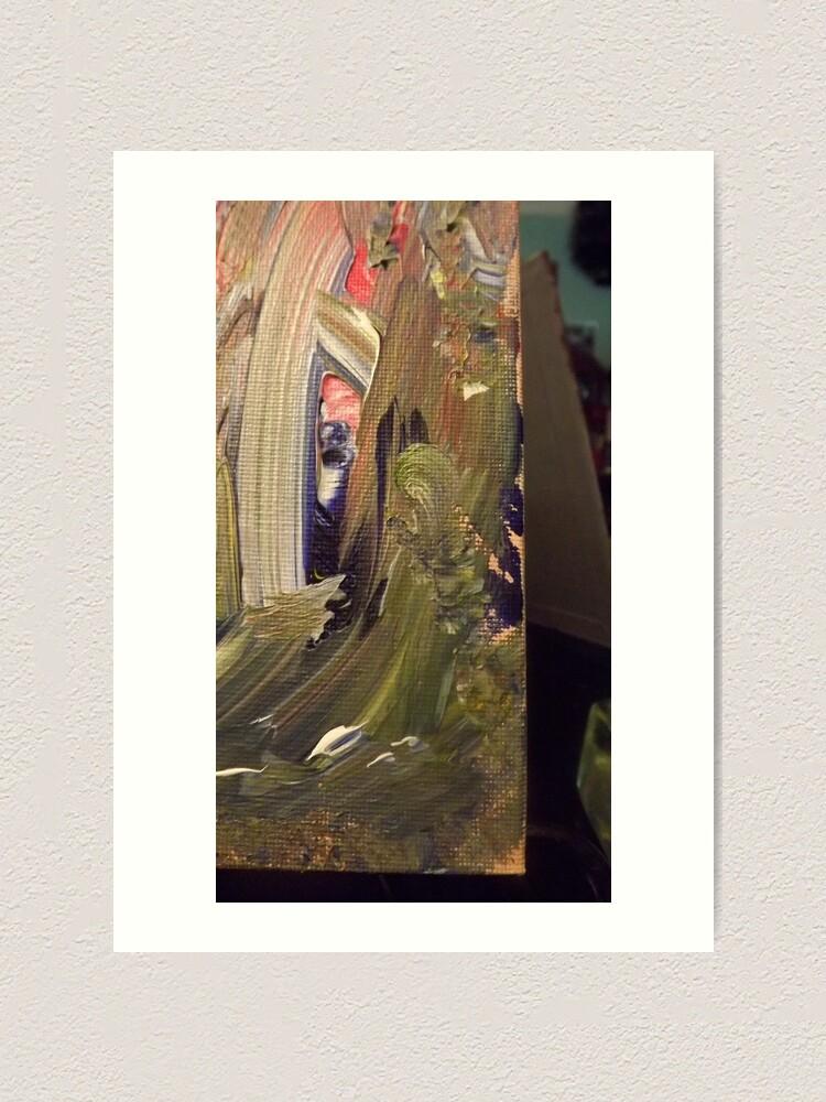 "Alternate view of ""Elana"":  Wood Sprite from Emerald's Domain Art Print"