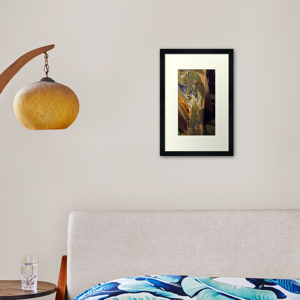 Ancient Seer Framed Art Print