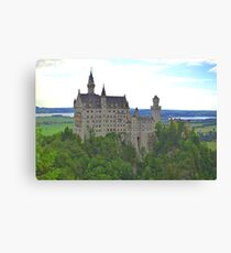 Neuschwanstein Castle Canvas Print