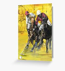 Polo Cup Greeting Card