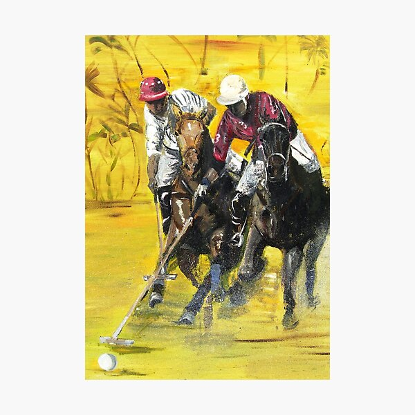Polo Cup Photographic Print