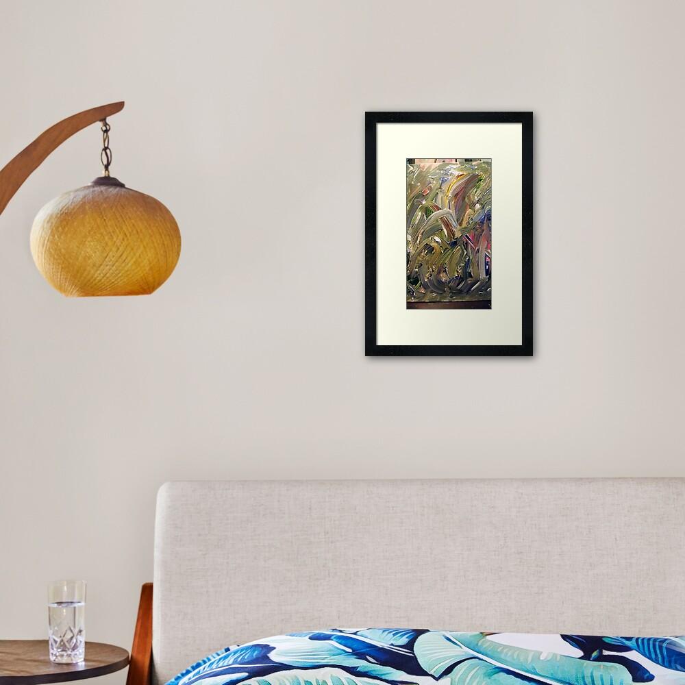 """Emerald's Domain:  Discovery Art Framed Art Print"