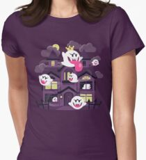 Ghost House Women's Fitted T-Shirt
