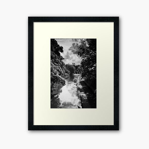 Lancaster Canal  Framed Art Print