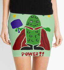 Funny Pickle Super Hero Pickleball Player Mini Skirt