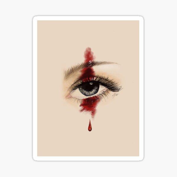 Tears from the Heart Sticker