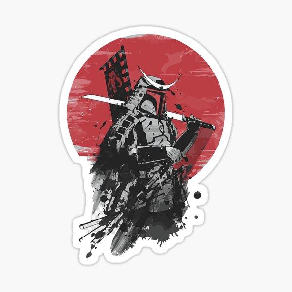 Samurai Mando Sticker