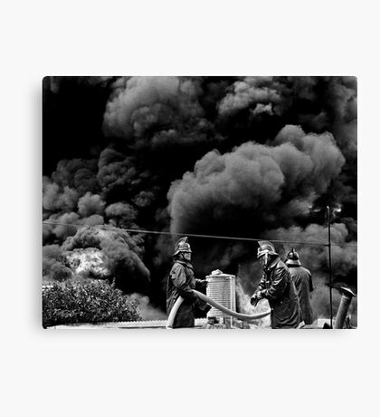 Before the Attack Canvas Print