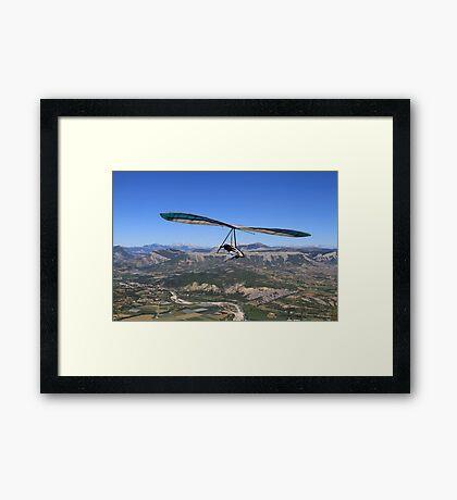 Hang Glider, British National Championships Framed Print