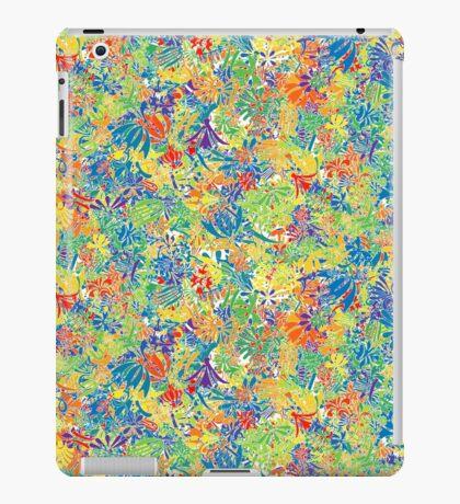 Colourful plants, rainbow iPad Case/Skin