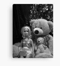 stuffed bear Canvas Print