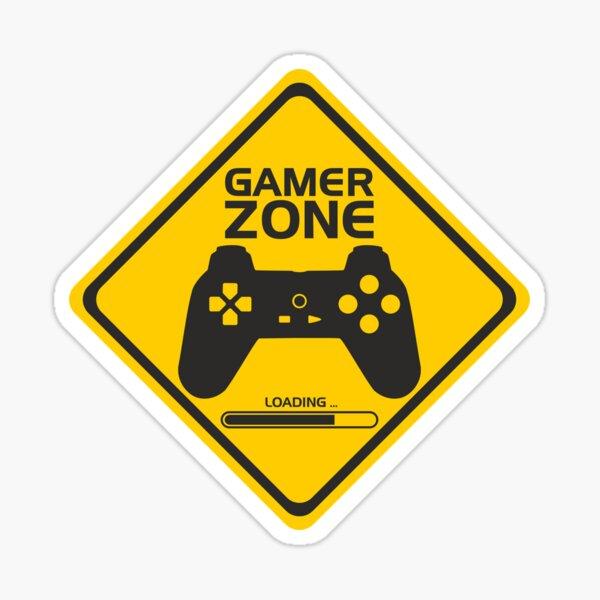 Gamer Zone Sticker