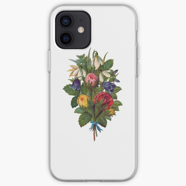 Shabby Chic Fowers iPhone Soft Case