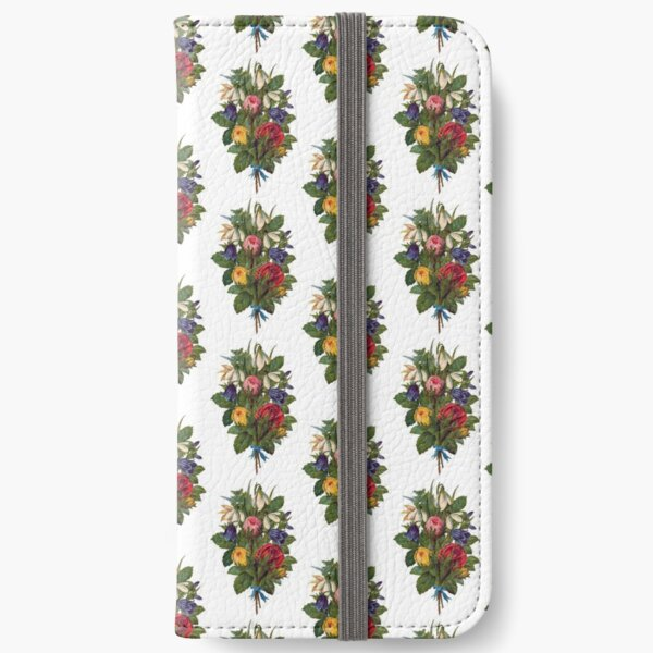 Shabby Chic Fowers iPhone Wallet