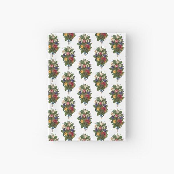 Shabby Chic Fowers Hardcover Journal