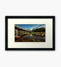"""""""Over The Avon"""" Framed Print"""