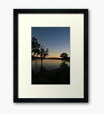 Wyaralong sunrise Framed Print