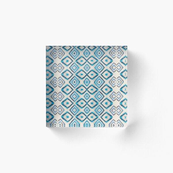 cuadri - aqua Acrylic Block