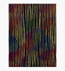 rainbow bodylines Photographic Print