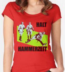 Halt Hammerzeit Women's Fitted Scoop T-Shirt