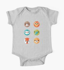 Smiley Faces - Set 2 One Piece - Short Sleeve
