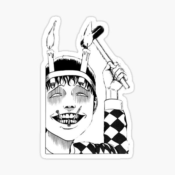 junji ito souichi Sticker