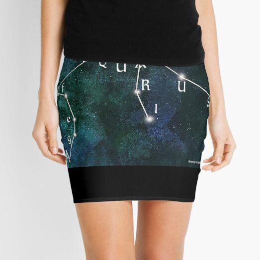 Age of Aquarius Mini Skirt