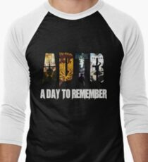 A Day To Remember  Men's Baseball ¾ T-Shirt